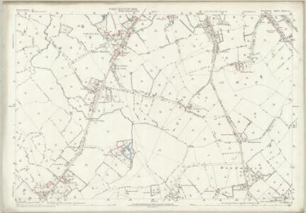 Wiltshire XXXVIII.11 (includes: North Bradley; Southwick; Trowbridge; Wingfield) - 25 Inch Map