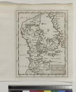 Danemark vizt Jutland, Zeland, Sleswick, Holstein.