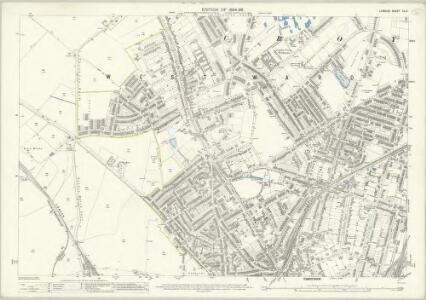 London (Edition of 1894-96) CLIV (includes: Croydon St John The Baptist) - 25 Inch Map