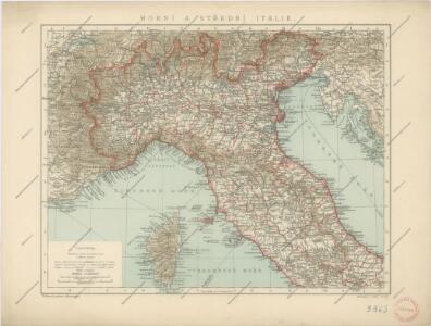 Horní a střední Itálie