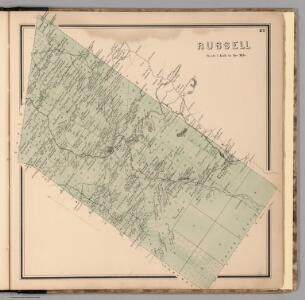 Russell, Saint Lawrence County, New York.