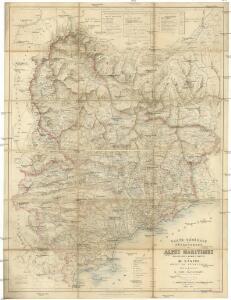 Carte générale du département des Alpes Maritimes