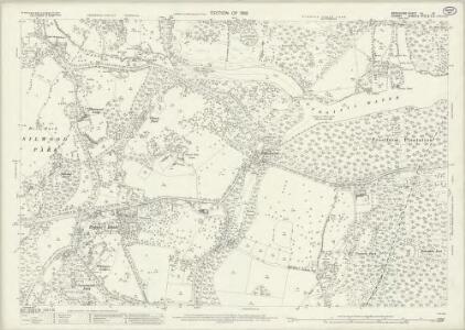 Berkshire XL.13 (includes: Egham; Old Windsor; Sunningdale; Sunninghill; Winkfield) - 25 Inch Map