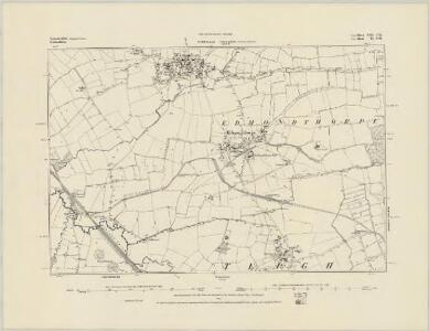 Leicestershire XX.NE - OS Six-Inch Map