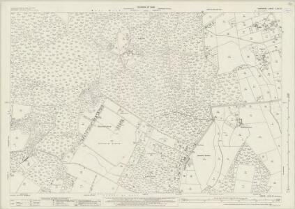 Hampshire and Isle of Wight LXVII.10 (includes: Boarhunt; Denmead; Soberton; Wickham) - 25 Inch Map