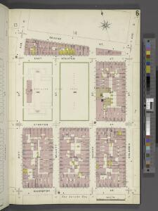 Manhattan, V. 2, Plate No. 6 [Map bounded by 2nd St., Columbia St., Rivington St., Pitt St.]