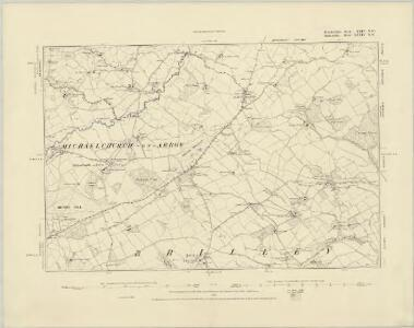 Herefordshire XXIV.SE - OS Six-Inch Map