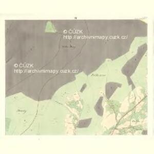 Rožnau (Rožnow) - m2628-1-004 - Kaiserpflichtexemplar der Landkarten des stabilen Katasters
