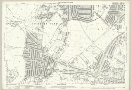 Warwickshire XIII.7 (includes: Birmingham; Smethwick; Warley Woods) - 25 Inch Map