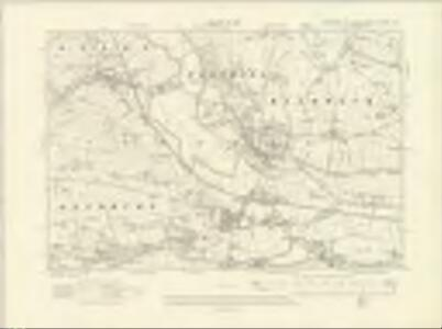 Yorkshire CLXXXV.NW - OS Six-Inch Map