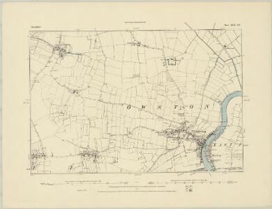 Lincolnshire XXV.SW - OS Six-Inch Map