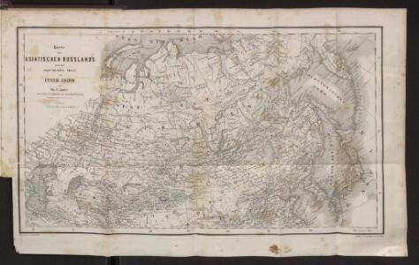 Karte des Asiatischen Russland's und der angrenzenden Theile von Inner Asien