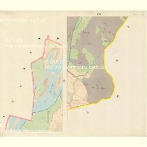 Hustopetsch - m0934-1-006 - Kaiserpflichtexemplar der Landkarten des stabilen Katasters