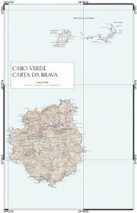 Cabo Verde Carta da Brava