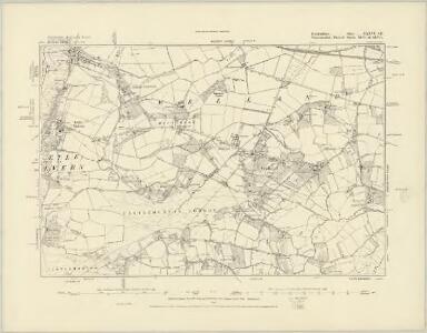 Herefordshire XXXVI.SW - OS Six-Inch Map