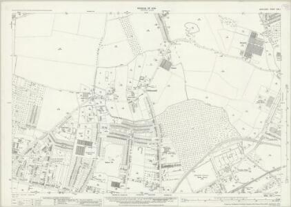Middlesex XXV.1 (includes: Feltham; Hanworth; Sunbury) - 25 Inch Map