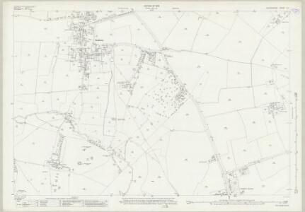 Oxfordshire X.1 (includes: Bloxham; Bodicote; East Adderbury) - 25 Inch Map