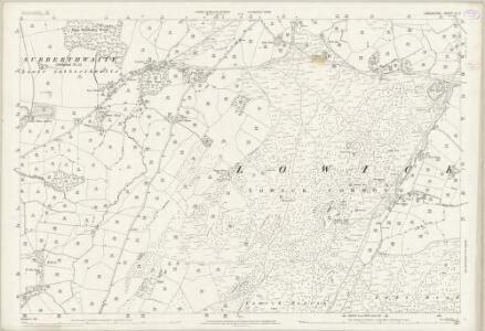 Lancashire XI.3 (includes: Colton; Egton With Newland; Lowick; Subberthwaite) - 25 Inch Map