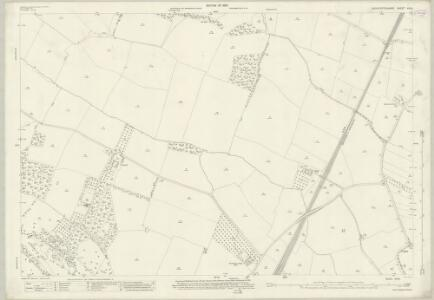 Gloucestershire XIII.8 (includes: Buckland; Dumbleton; Stanton; Toddington) - 25 Inch Map