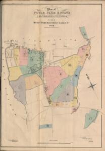 Plan of Poyle Park Estate, Colnbrook, nr Windsor