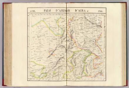Pays d'Ajemeer, d'Agra. Asie  82.