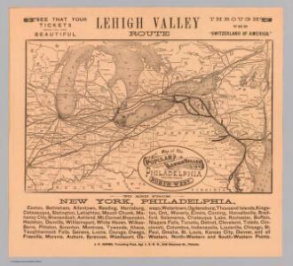Lehigh Valley line.