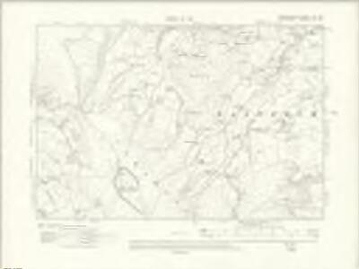 Denbighshire IX.SE - OS Six-Inch Map