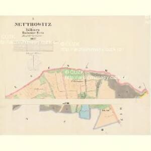 Nettrowitz - c5078-1-001 - Kaiserpflichtexemplar der Landkarten des stabilen Katasters