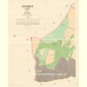 Zdirez - c9347-1-001 - Kaiserpflichtexemplar der Landkarten des stabilen Katasters