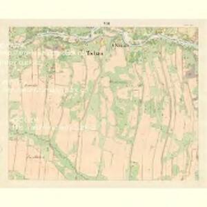 Tichau (Ticha) - m3107-1-006 - Kaiserpflichtexemplar der Landkarten des stabilen Katasters