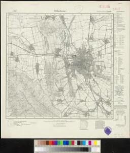 Meßtischblatt 2090 : Hildesheim, 1924