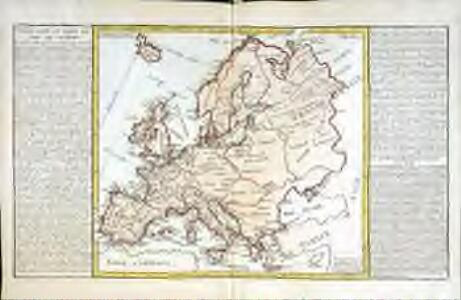 Isles, caps, et ports de mer de l'Europe