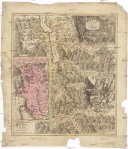 Pagus Helvetiae Uriensis cum subditis suis in valle Lepontina accuratissima delineatio