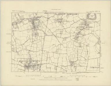 Somerset LXXIV.SW - OS Six-Inch Map