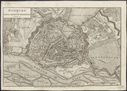 Hamburg mit seinen nächsten Umgebungen im Jahr 1811
