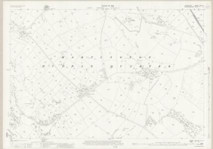 Derbyshire XXVII.3 (includes: Hartington Middle Quarter; Longnor; Sheen) - 25 Inch Map