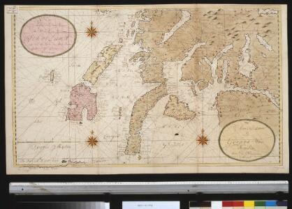 Nieuwe afteekening van de West kust van SchotLand als ook de eijlanden van Jura, Collensa, IJla, Cantijra en Arren