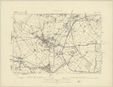 Staffordshire XLV.SW - OS Six-Inch Map