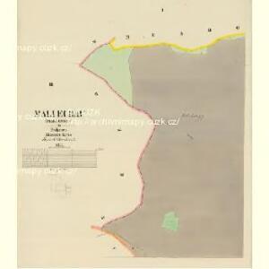 Mallechau (Mallechow) - c4396-1-001 - Kaiserpflichtexemplar der Landkarten des stabilen Katasters