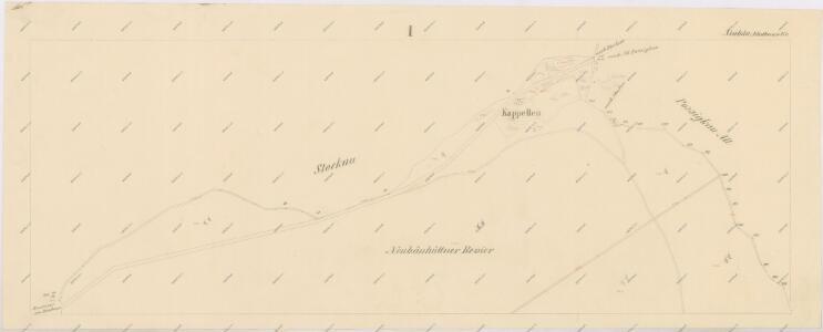 Katastrální mapa obce Novosedly WC-XIV-24 bi, ci