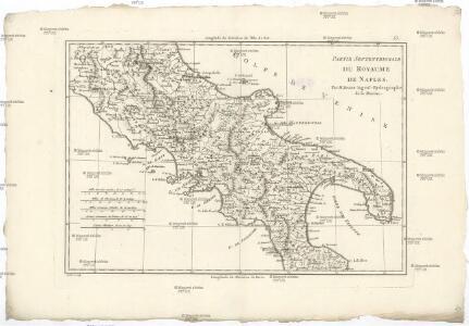 Partie septentrionale de royaume de Naples