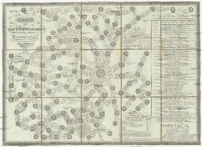 Reise und Influenz-Karte der Eil- Post- und Brancard-Wagen-Course in dem Oesterreichischen Kaiserstaate