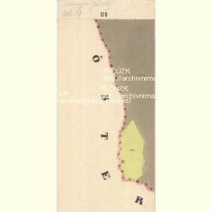 Glöckelberg - c9317-3-020 - Kaiserpflichtexemplar der Landkarten des stabilen Katasters