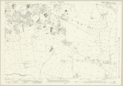 Lancashire CXI.9 (includes: Manchester; Sale) - 25 Inch Map