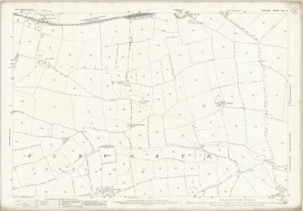 Durham XLII.15 (includes: Heighington; Shildon) - 25 Inch Map