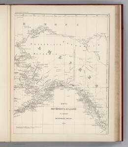 Facsimile:  Russian Dominions (portion).