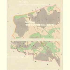 Dobřan - c1201-1-002 - Kaiserpflichtexemplar der Landkarten des stabilen Katasters
