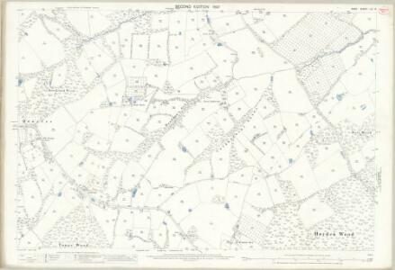 Kent LXI.15 (includes: Brenchley; Lamberhurst) - 25 Inch Map