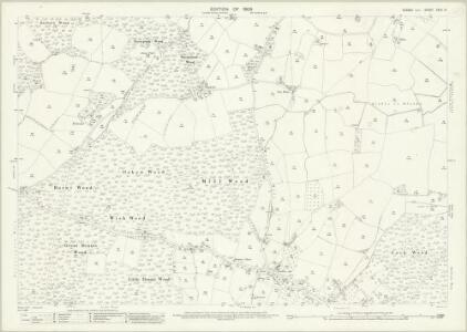 Sussex XXXII.13 (includes: Peasmarsh) - 25 Inch Map