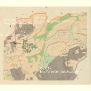 Makarow - c4354-1-002 - Kaiserpflichtexemplar der Landkarten des stabilen Katasters